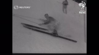 ITALY:  WINTER OLYMPICS 1956 : CORTINA: WINTER OLYMPICS: (1956)