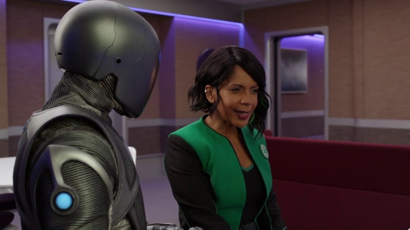 The Orville Isaac's Character Evolution Terminator Homage