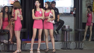Pattaya Girls. Walking Street is the biggest and busiest party hotspot in the whole of Thailand