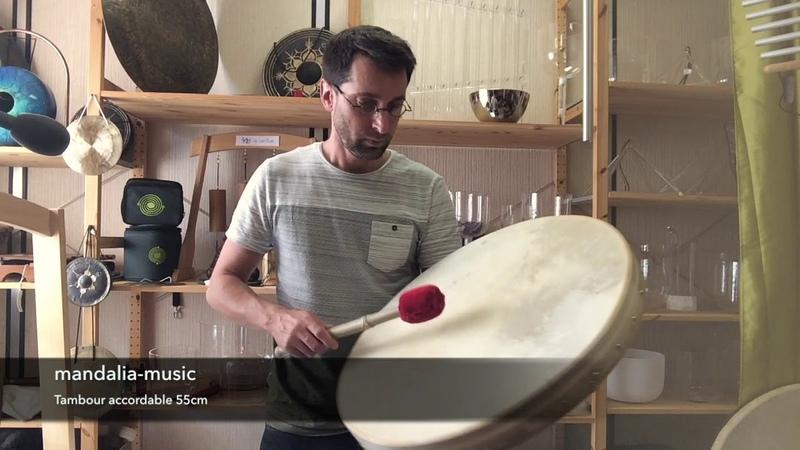 Tambour accordable 55 cm avec clé