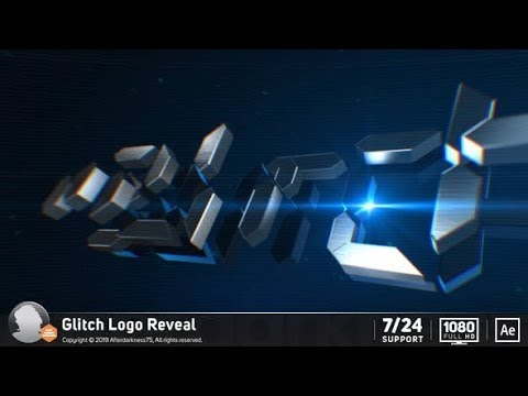 Glitch Logo Reveal videohive