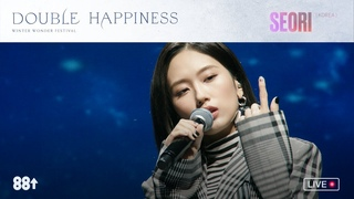 """Seori performs """"Who Escaped"""" & """"Running Through The Night"""" at Double Happiness ❄️❄️"""