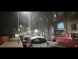 Beograd -  snimio u ponoć: Čudna prašina prekrila centar grada, oseća se u ustima