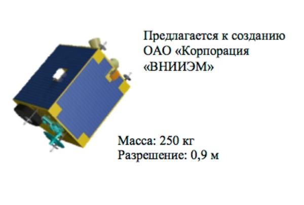 Спутник МКА-В. (кредит: ВНИИЭМ)