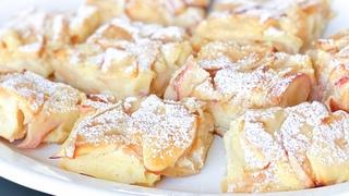 Fabelhaftes Dessert in 5 Minuten Einfacher und leckerer Apfelkuchen