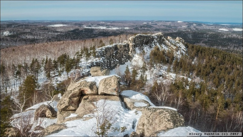 Аракуль Озеро между Гор Красивейшее место Челябинской области с Воздуха в 4К Mavic Zino Hubsan