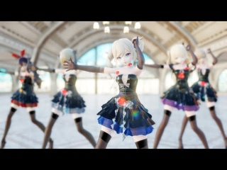 【MMD/Genshin Impact】 Ikkitousen - Mondstadt Idol Group Outfit Edit - Which is your favorite style?
