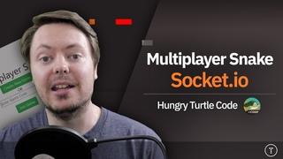 Multiplayer Snake Game   JavaScript &
