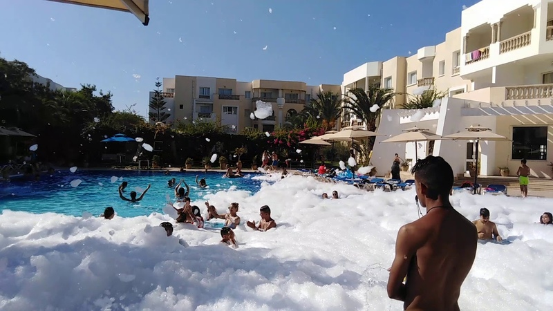Residence Le Corail Appart Hotel Yasmine Hammamet MOUSSE PARTY