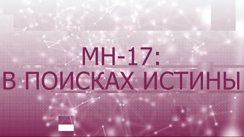 «МН-17 в поисках истины»