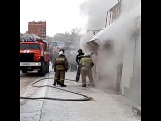 Пожар на Вилюйской