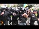 Бійка між спецпризначенцями та активістами Євромайдану у Харкові РадіоСвобода