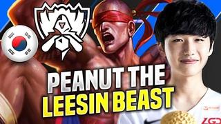 PEANUT IS SO CLEAN WITH LEE SIN! - LGD Peanut Plays Lee Sin Jungle vs Elise! | Worlds 2020 Bootcamp