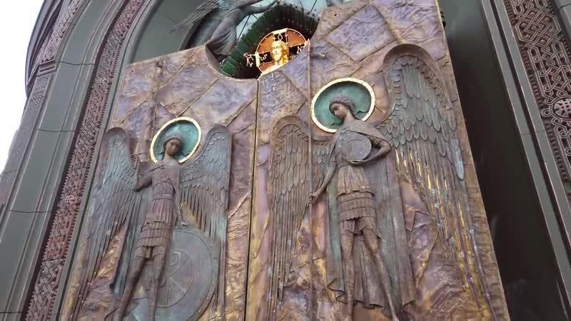 Звезды египетского божка ремфана под куполом главного храма ВС