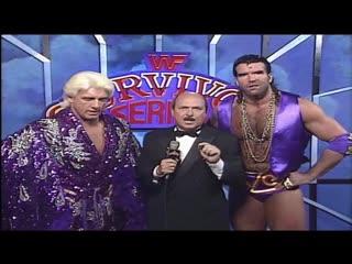 Ric Flair & Razor Ramon VS Randy Savage &