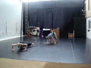 Rebecca Campey Bungee Assisted Dance @ Wired Aerial Theatre .wmv