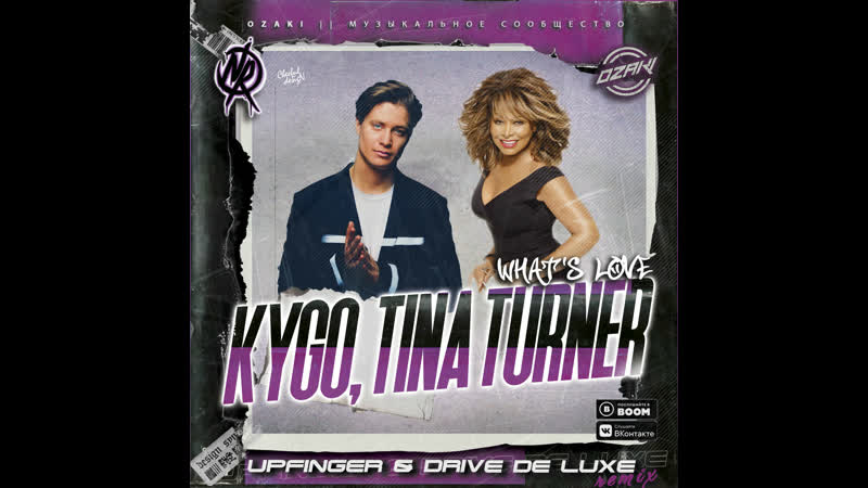 Kygo x Tina Turner What's Love Got To Do With It Upfinger Drive de luxe Remix