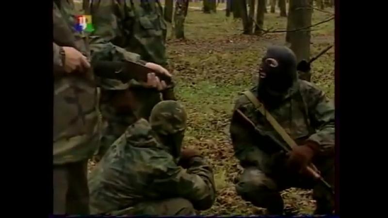 Занятия по рукопашному бою разведчиков спецназа