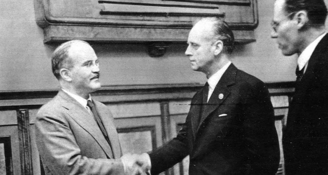 Встреча с немецкими дипломатами