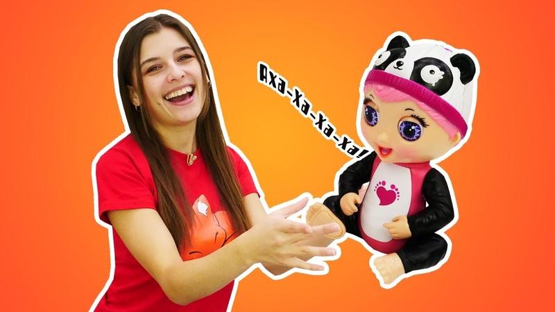 Распаковка и обзор игрушек Интерактивные игрушки Tiny Toes Классные видео для девочек