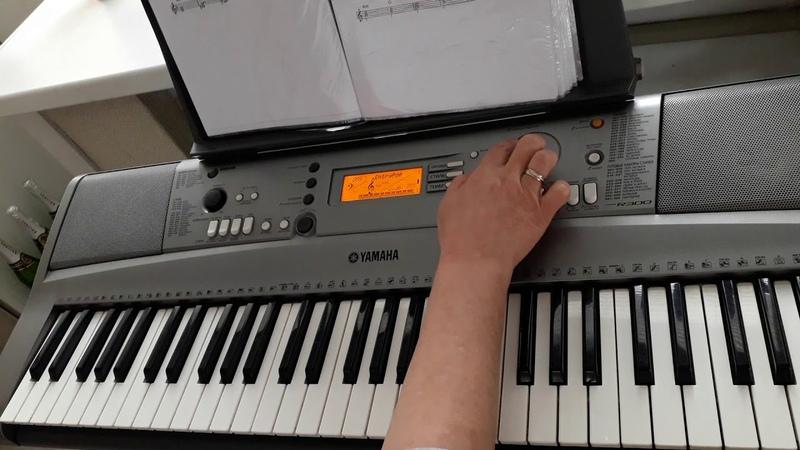 Джо Дассен Бабье лето как играть на синтезаторе
