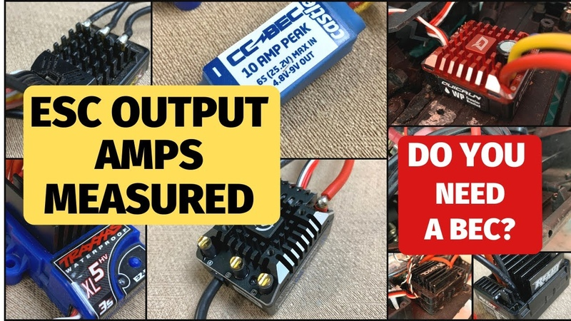 Do you really need a BEC or better ESC for your servo Volts and amp outputs measured