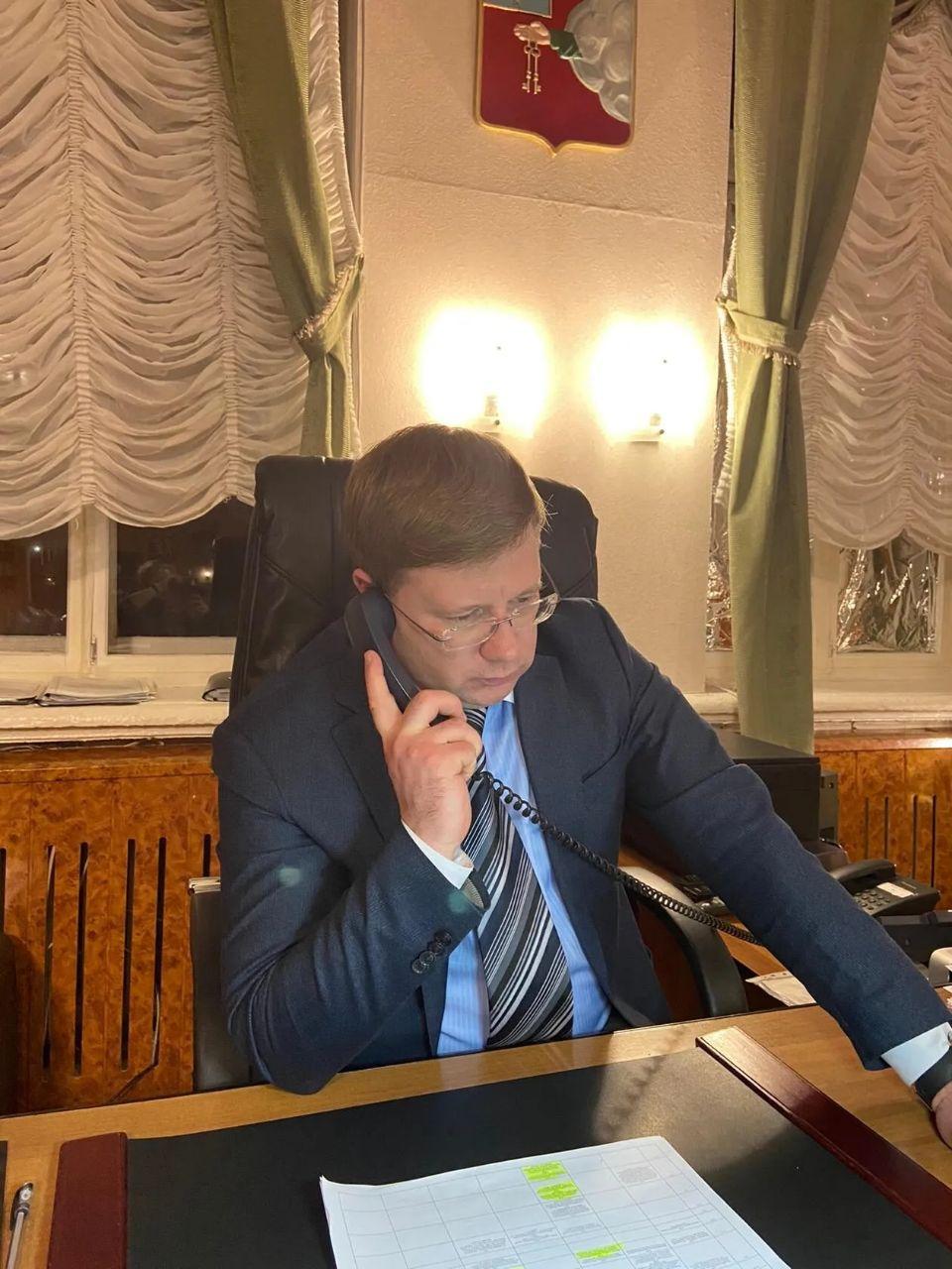 Глава Петровского района Денис Фадеев провёл плановый личный приём жителей