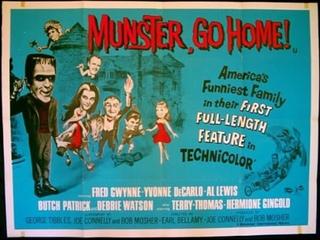 Munster Go Home! (1966)  Fred Gwynne, Yvonne De Carlo, Al Lewis