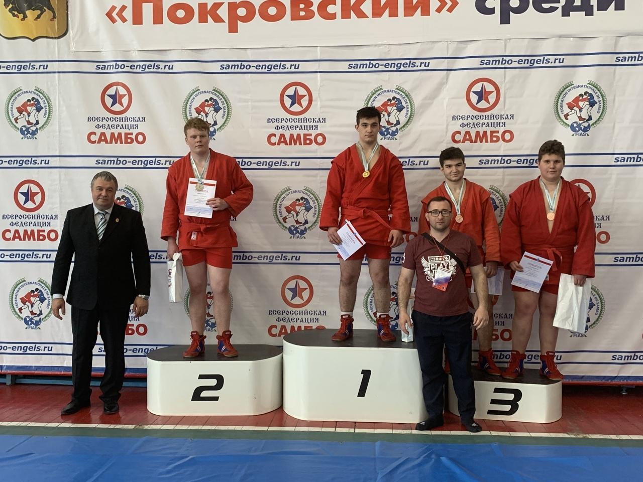 Петровские самбисты стали серебряными призёрами Всероссийских соревнований