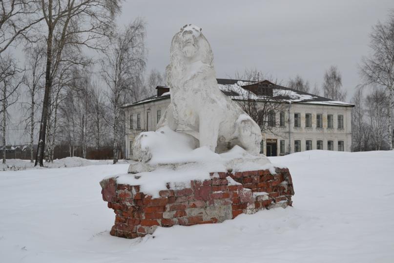 Царь зверей в Сольвычегодске., изображение №3