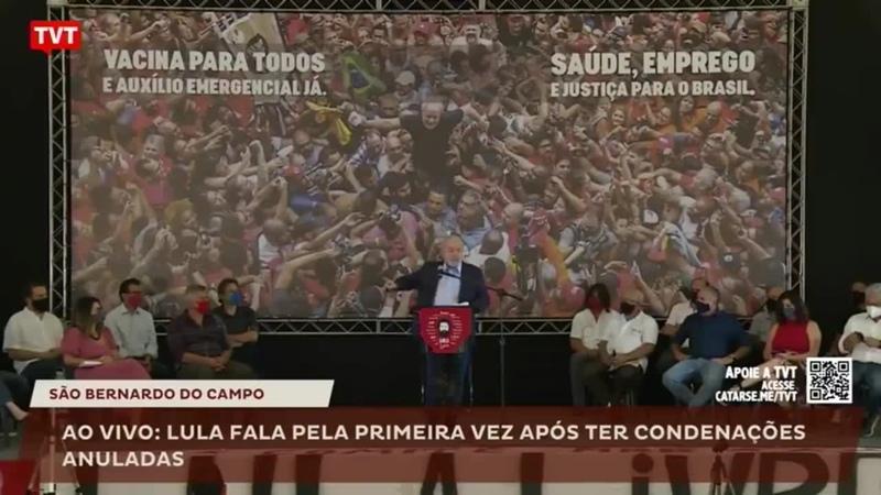 Lula sobre Bolsonaro_ _Não sabe o que é ser presidente da República_-xeB4_gSzjHU