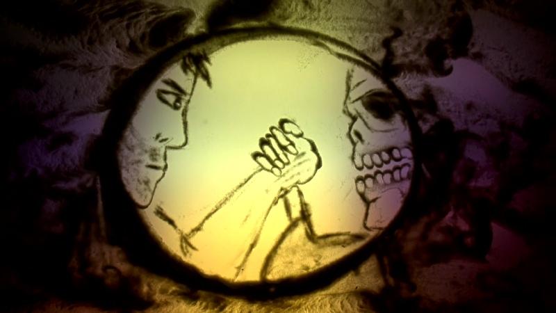 Разговор со смертью Песочная история