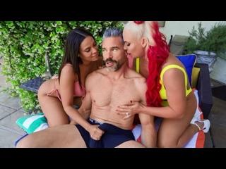 [Brazzers, Бразерс] Phoenix Marie, Luna Star [Секс жмж Порно hd porn группов групповух две девушк трах ебл молод ебут девочк тра