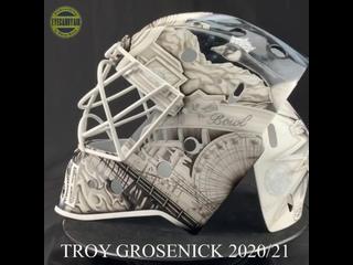 Трой Гросеник представил новый шлем на сезон 2020/21!