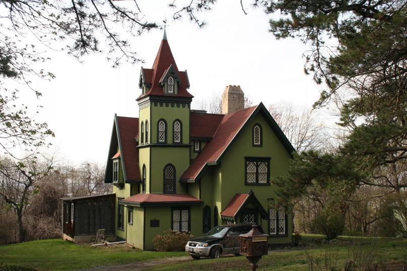 Дом У. С. Пендлтона, 1855, Статен-Айленд, Нью-Йорк. Эмилио Герра
