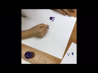 ПОЗНАВАТЕЛЬНАЯ игра -рисование «СЛЕДЫ»