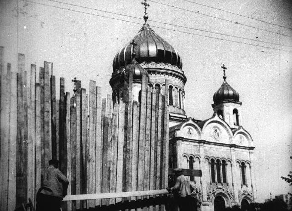 История уничтожения Храма Христа Спасителя в Москве, изображение №4