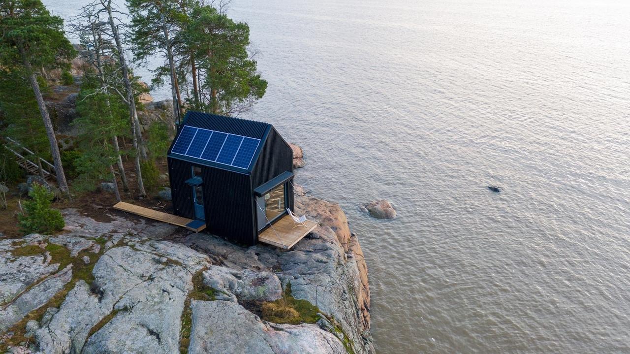 Majamaja Wuorio Eco-Cabin / Littow Architectes