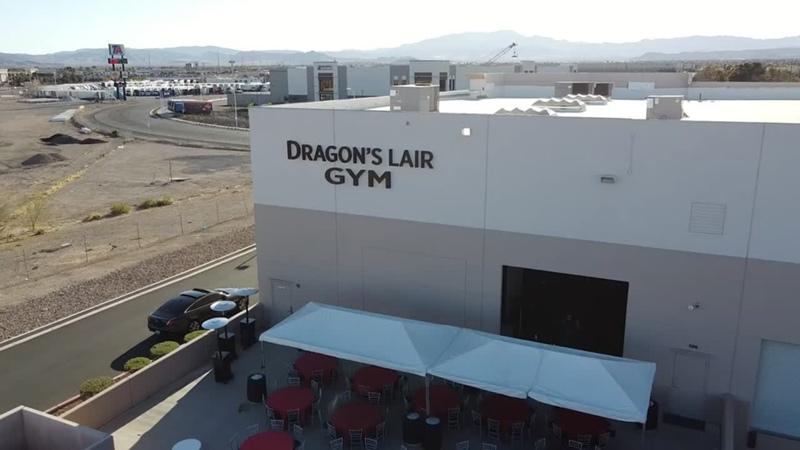 Flex Lewis Grand Opening of Dragon's Lair in Las Vegas
