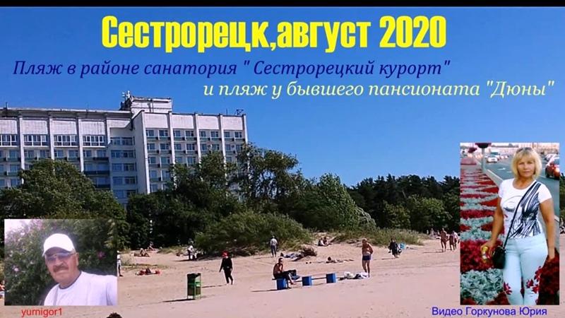 Отдых с Татьяной на сестрорецком пляже в августе 2020 г муз Карен Саркисян