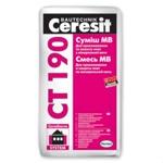 Ceresit CT 190  Штукатурно-клеевая смесь для крепления минераловатных плит и устройства на них армир