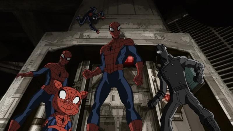 Совершенный Человек Паук 3 сезон 12 серия Паучьи вселенные 4 часть HD 720p