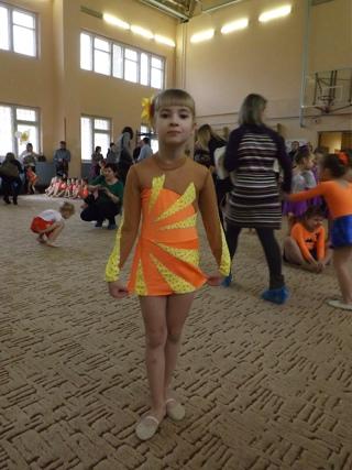 Первенство школы Эстетической гимнастики 27 декабря 2014