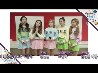 160103 Red Velvet @ MBC Section TV New Year Message