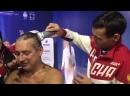 Фехтовальщики Егорян и Сафин побрили главного тренера сборной в Доме болельщиков_2