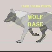 Лайн база - волк