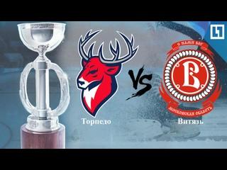 «Торпедо» или «Витязь»? Финальный матч за главный хоккейный трофей U11