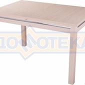 Стол кухонный Сигма МД 08МД молочный дуб