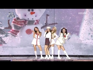 """· Perfomance · 191227 · OH MY GIRL (Arin), Nayeon, Chorong,  Irene - """"Come to Me"""" (. cover) · KBS """"Gayo Daechukje"""" 2019 ·"""