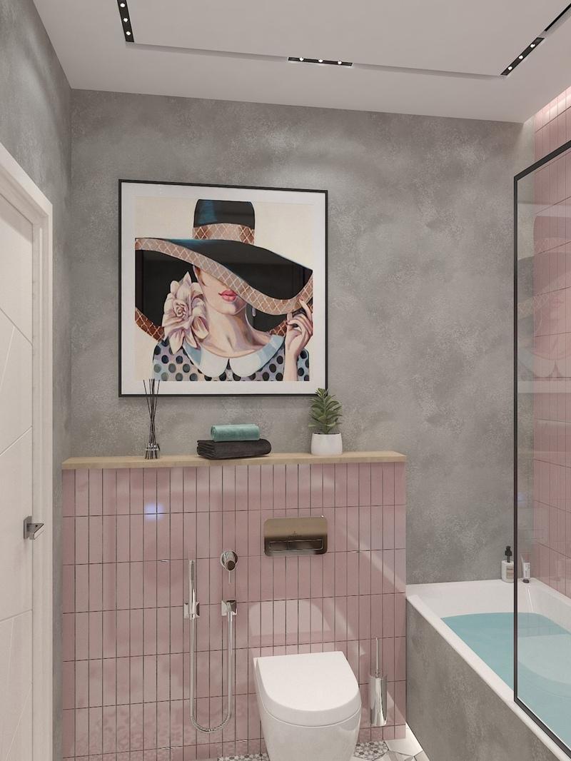 Проект квартиры-студии 29 м для девушки.